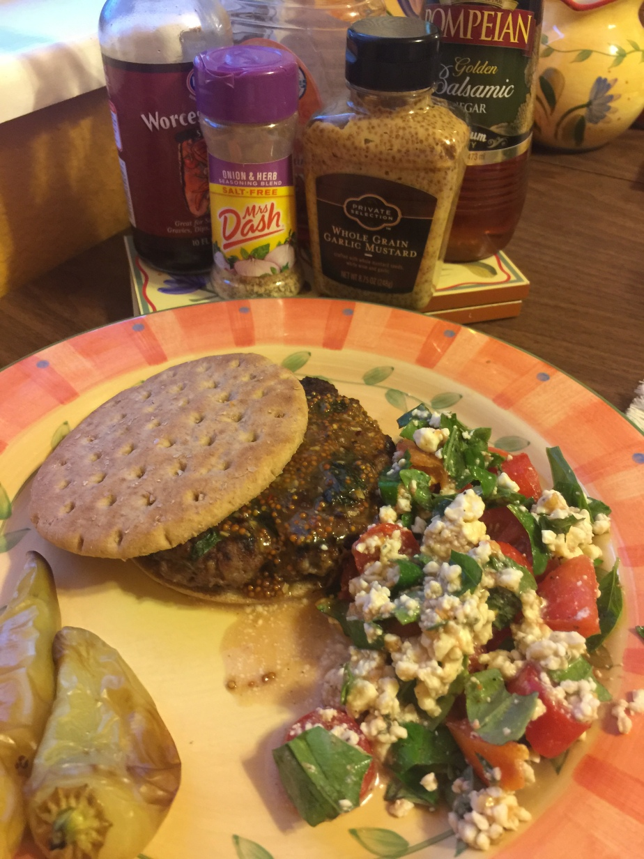Gorgonzola Burgers with SpecialSauce